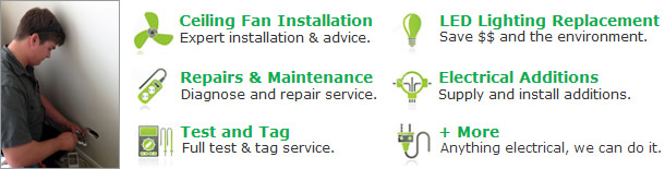 Burkett Electrical offers a full range of services!